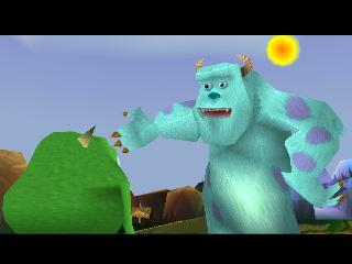 Screenshot Thumbnail / Media File 1 for Monsters Inc. - Scream Team [NTSC-U]